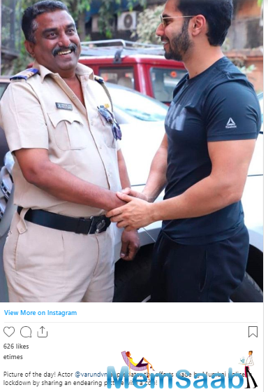 Soon, the actor shut the troll in a polite manner. Varun tweeted,