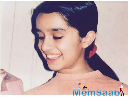 However, way before she even became a star, Shraddha was the lovely young girl who won many hearts with her adorable smile.