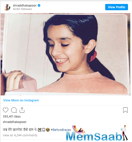 No sooner than she shared the photo, Sara Ali Khan took to the post to comment,
