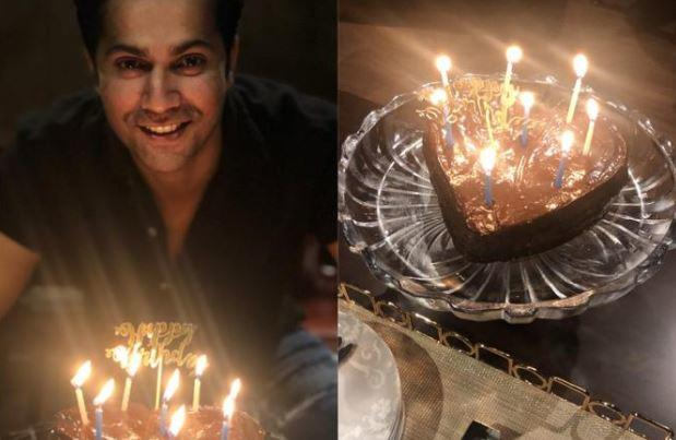 Varun decided to celebrate his 33rd birthday at home, with his loved ones