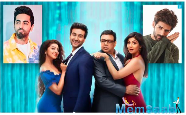 Hungama featured Paresh Rawal, Shoma Anand, Akshaye Khanna, Aftab Shivdasani, and Rimi Sen in lead roles.