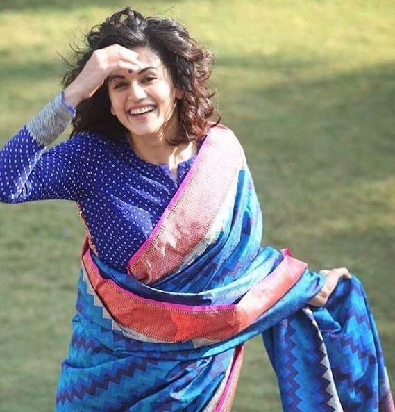 Seeing people in theatre during this shot validated our belief that we did it right: Taapsee Pannu