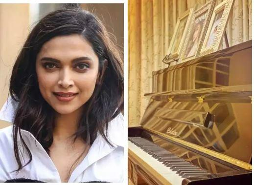 Deepika took to Instagram to share a picture of her piano