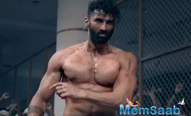 It's said to get into the skin of his character, Aditya underwent a massive physical transformation and can be seen in two completely different avatars in the film.
