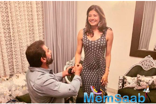 On May 28, 2020, the couple celebrated their first anniversary. On this date, Nawaab Shah popped the question to Pooja Batra, in front of his parents, and the actress said yes.