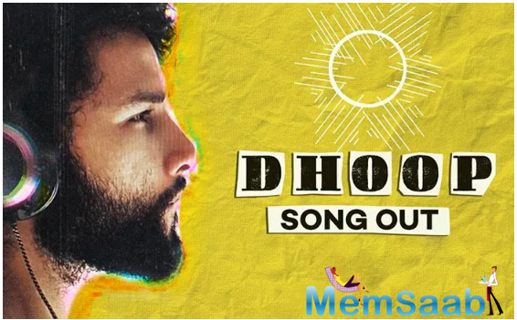 Siddhant took to his social media handle to share the song.
