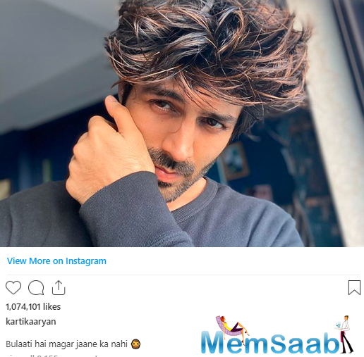 And now, the actor took to Instagram to share a super cool selfie and his infectious look will surely ward off your mid-week blues.