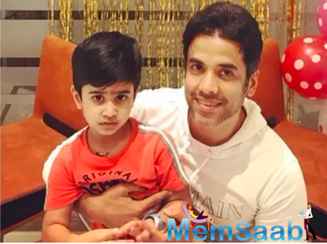 With Father's Day coming up tomorrow, we asked Tusshar what the father-son duo is planning for the special occasion.
