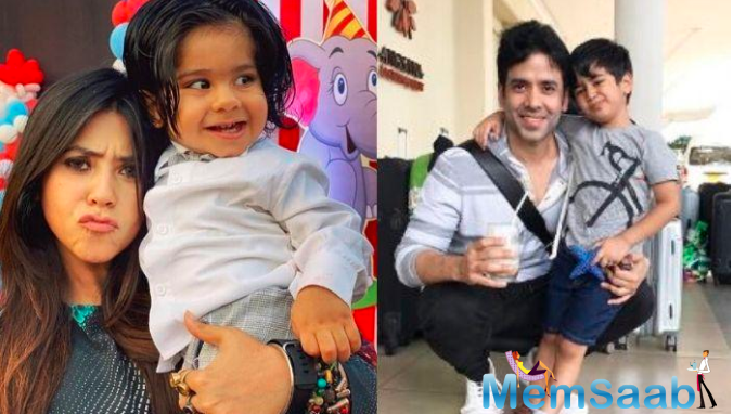 Tusshar says Ekta and I have our own styles of parenting.
