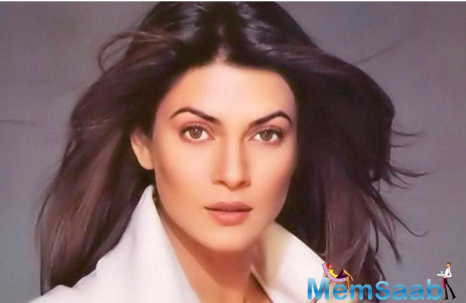 Sushmita was also asked about being a mother to two girls, and whether she considers herself a nagging mom.