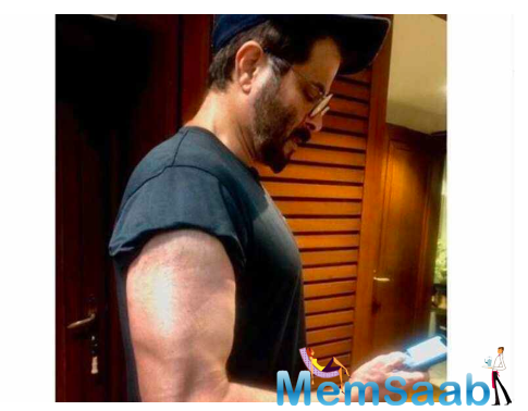 From never missing out on his workout sessions to maintaining a healthy diet, Anil has been giving us all major fitness goals.