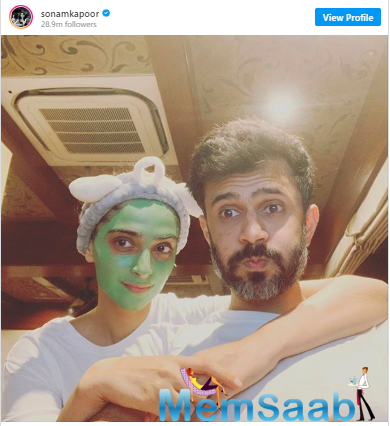 Now, she took to Instagram to share a sweet selfie with Anand and captioned,