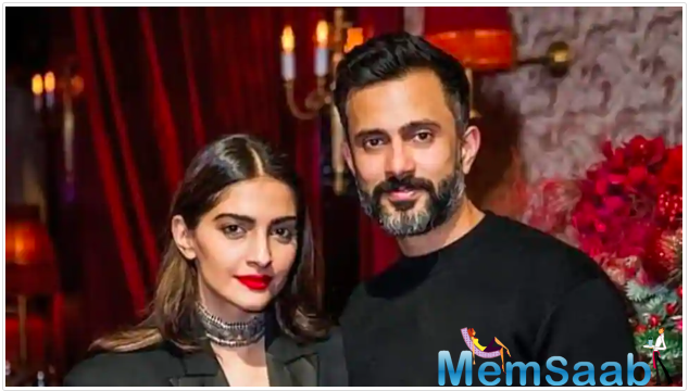 Taking to Instagram, Sonam shared a couple of photos of Anand and his love for fitness and proved that her husband is a complete 'fitness junkie.'