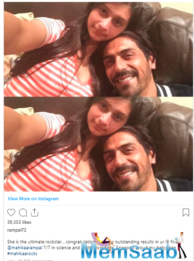Now, on Sunday, the actor took to Instagram to share sweet selfies with daughter Mahikaa to congratulate her as she performed outstandingly in IB exams.