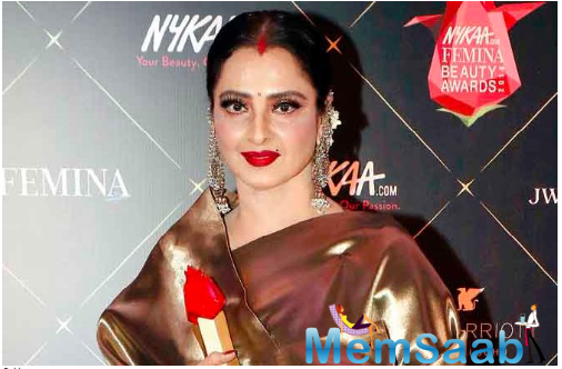 Has someone tested positive for COVID-19 at Rekha's home at Bandra Bandstand?