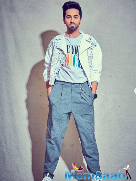 Ayushmann Khurrana is in the reflective mode as he waits for Bollywood shootings to begin again.
