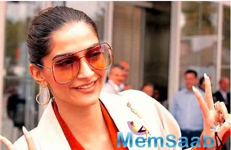 Sonam Kapoor Ahuja is currently in London.