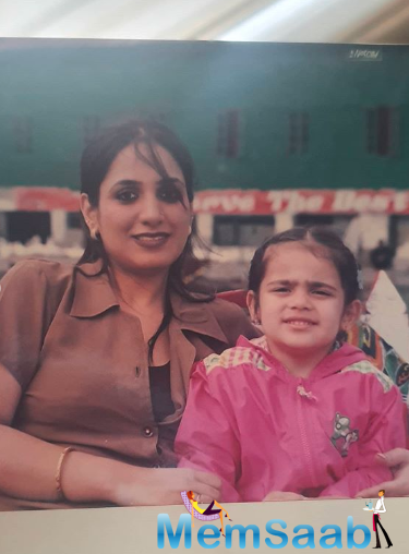 Radhika took to her verified Instagram account, where she shared a string of pictures along with her mother. Two of the images feature Radhika as a toddler.