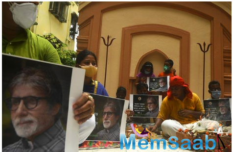 In his latest tweet, Amitabh Bachchan conveyed gratitude to well-wishers for blessings, love and prayers