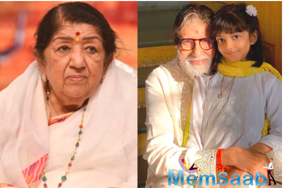 Mangeshkar has always greeted Bachchan on social media and both the legends keep sharing the moments they have spent in their illustrious careers.