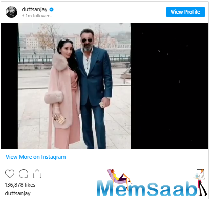 Did you know Sanjay calls his wife Maanayata mom? Well, he has confessed it now with an adorable birthday post. Take a look!