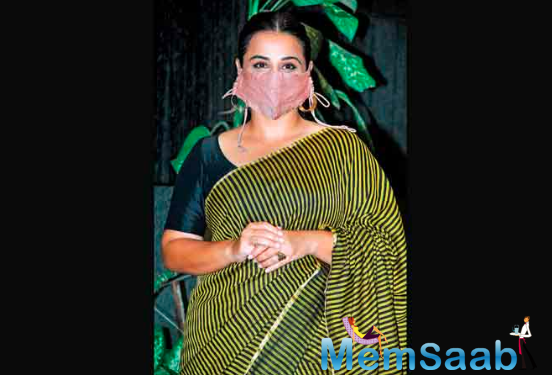 Speaking about Vidya Balan's upcoming project, the actress will be next seen portraying a math Wizz in and as Shakuntala Devi.