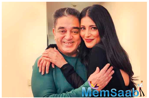 Shruti Haasan is thrilled that the movie is finally seeing the light of day.