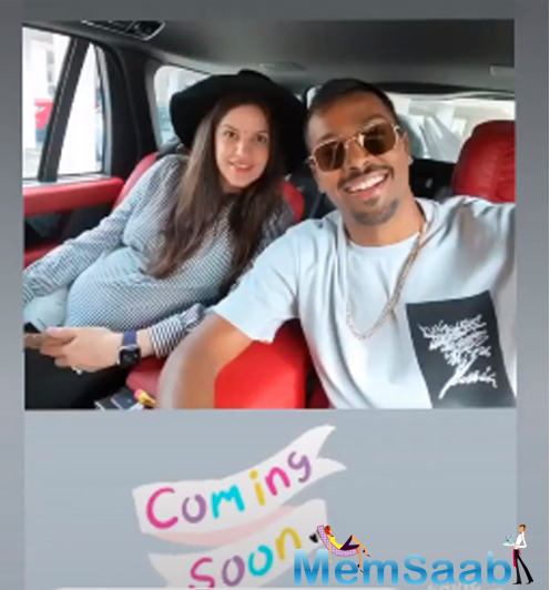 Natasa Stankovic had also taken to her Instagram account to share a picture that was uploaded by Hardik Pandya and stated- Coming soon.