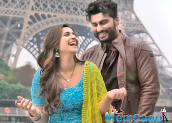 While their shooting schedules and the frantic pace of life doesn't allow them to meet up often, Parineeti says that her equation with Arjun remains unchanged.