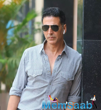 Talking about his family's reaction to him resuming work, Akshay said that he is very fortunate that his family has been very supportive.