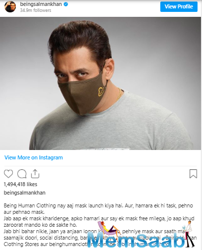 He even took to his Instagram account to share this news with all his fans.