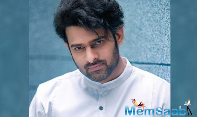"""Prabhas posted the video with a caption addressed to his fans: """"Are you ready for tomorrow? 7.11 am Hope you like it."""" He added a smiley to the post."""