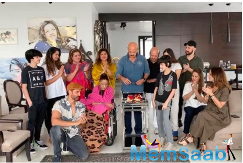 Take a look, Rakesh Roshan has a grand birthday celebration with Hrithik and Family
