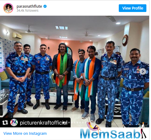 And on the eve of the Independence Day, he had taken to his Instagram account to share a picture and pay tribute to the policemen and women,