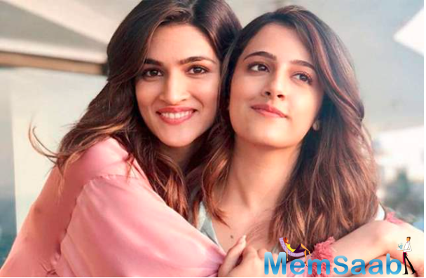 Meanwhile, on the work front, Kriti will be seen next in Laxman Utekar's 'Mimi'.