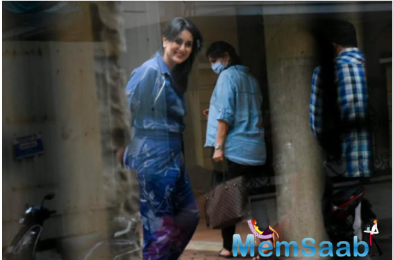Early birthday celebrations began at her residence on September 20 and the birthday girl was even spotted outside, flashing her smile as always.