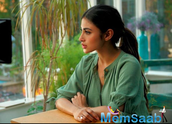 While the cast and crew of the film maintained social distancing, Mouni said initially there was a sense of tension on the set.
