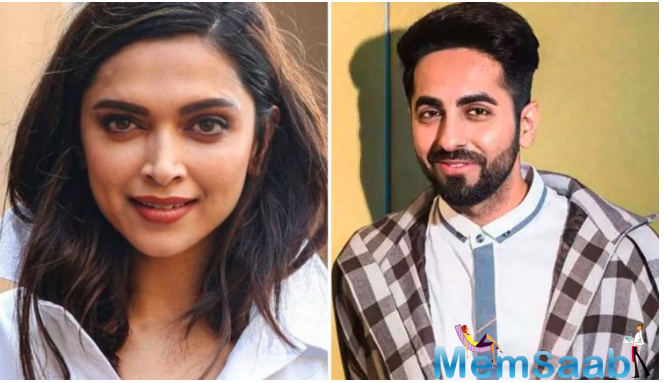 Deepika also praised the way Ayushmann convincingly transforms into characters. She attributed Ayushmann for having patience, perseverance, fearlessness and to dare to dream.