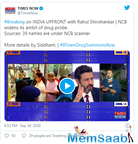 The NCB has already summoned Deepika Padukone, Shraddha Kapoor, Sara Ali Khan, Rakul Preet Singh and more for interrogation.