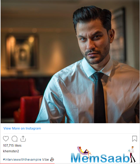 Bollywood hunk Kunal Kemmu treated his fans with another ruggedly handsome picture of himself.