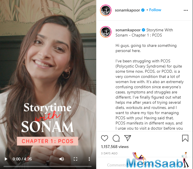 As part of Storytime with Sonam on Instagram, she shared tips on how to deal with it.