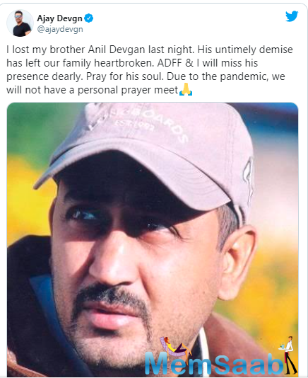 Anil Devgan began his journey as an assistant director on Raj Kanwar's Jeet in 1996 and went on to be the assistant on films like Jaan, Itihaas, and Pyaar To Hona Hi Tha.