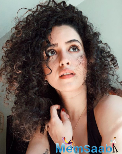 As the movie turns 2, Sanya says that the movie will always hold a special place in her life and has been an incredible experience working on it.