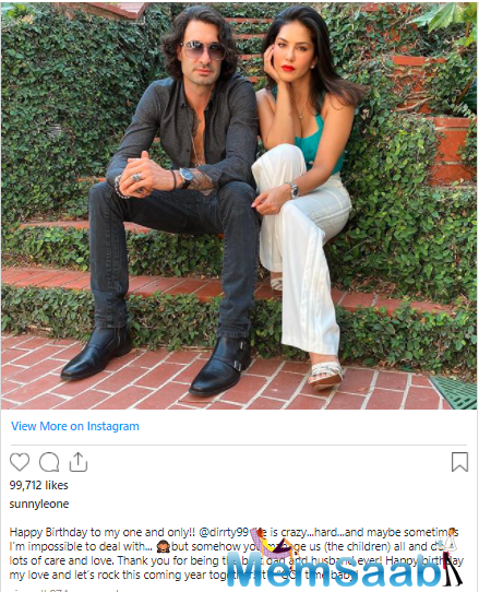 Now, she took to Instagram to share a sweet post for her hubby Daniel Weber on the occasion of his birthday.