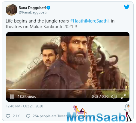 Taking to social media to announce the upcoming film, he shared that the film would have a theatrical release. After a long year of no cinematic releases, this is really some exciting news.