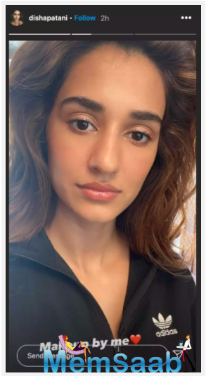 Disha Patani looks breathtakingly gorgeous in her latest Instagram selfie.