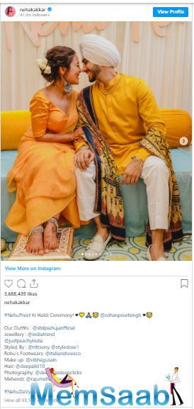 On Friday, the couple had a Haldi ceremony, pictures of which had flooded the internet.