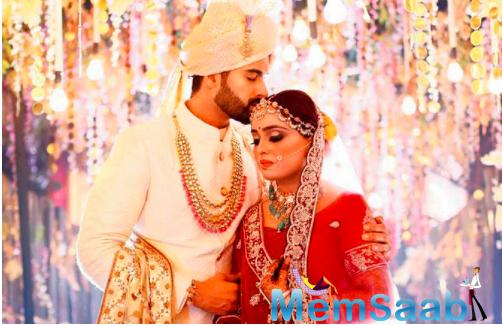 While Upasana Singh rescheduled her shoot to attend the ceremony, Satish Kaushik, Aahana Kumra, Faruk Kabir and Harshvardhan Rane among others wished the newly-weds virtually.