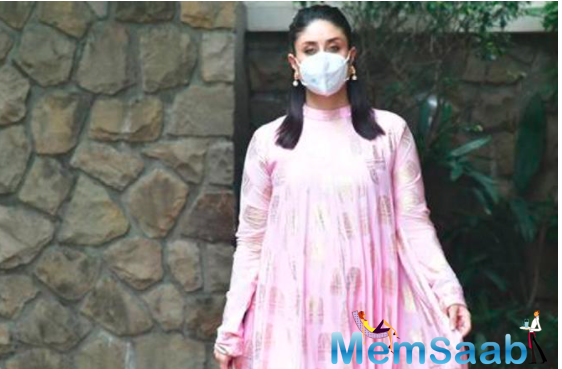 The actor was recently seen sporting a House of Masaba creation, one of her go-to couture labels.