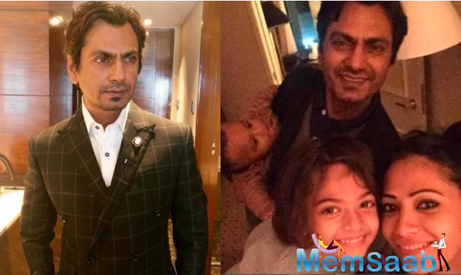 Nawazuddin and Aaliya got married 11 years back. They have two children - a daughter and son.